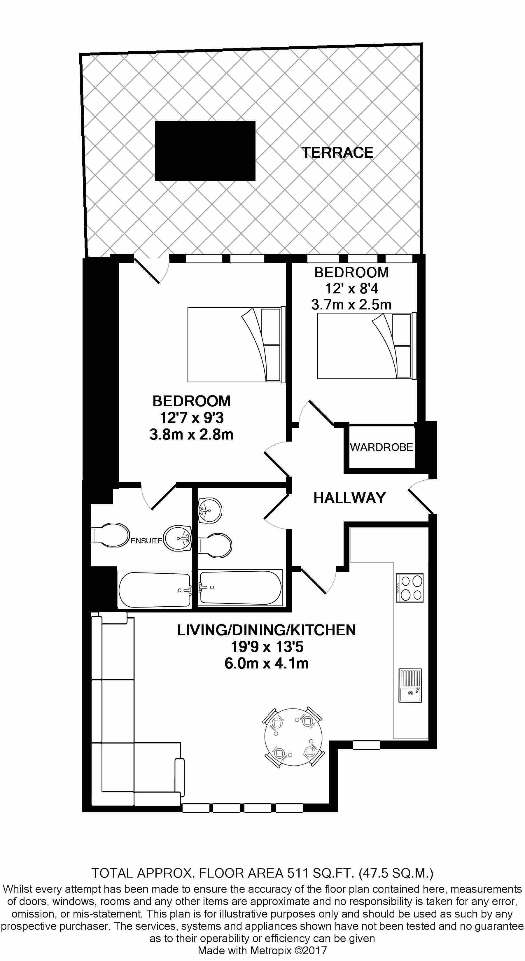 2 bedroom 2 bathroom Apartment for sale in Emerson Bainbridge